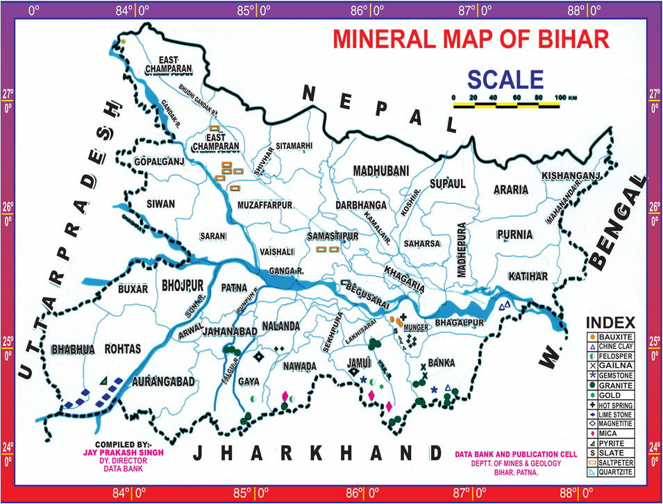 Mineral Map