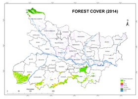 Forest Cover of Bihar